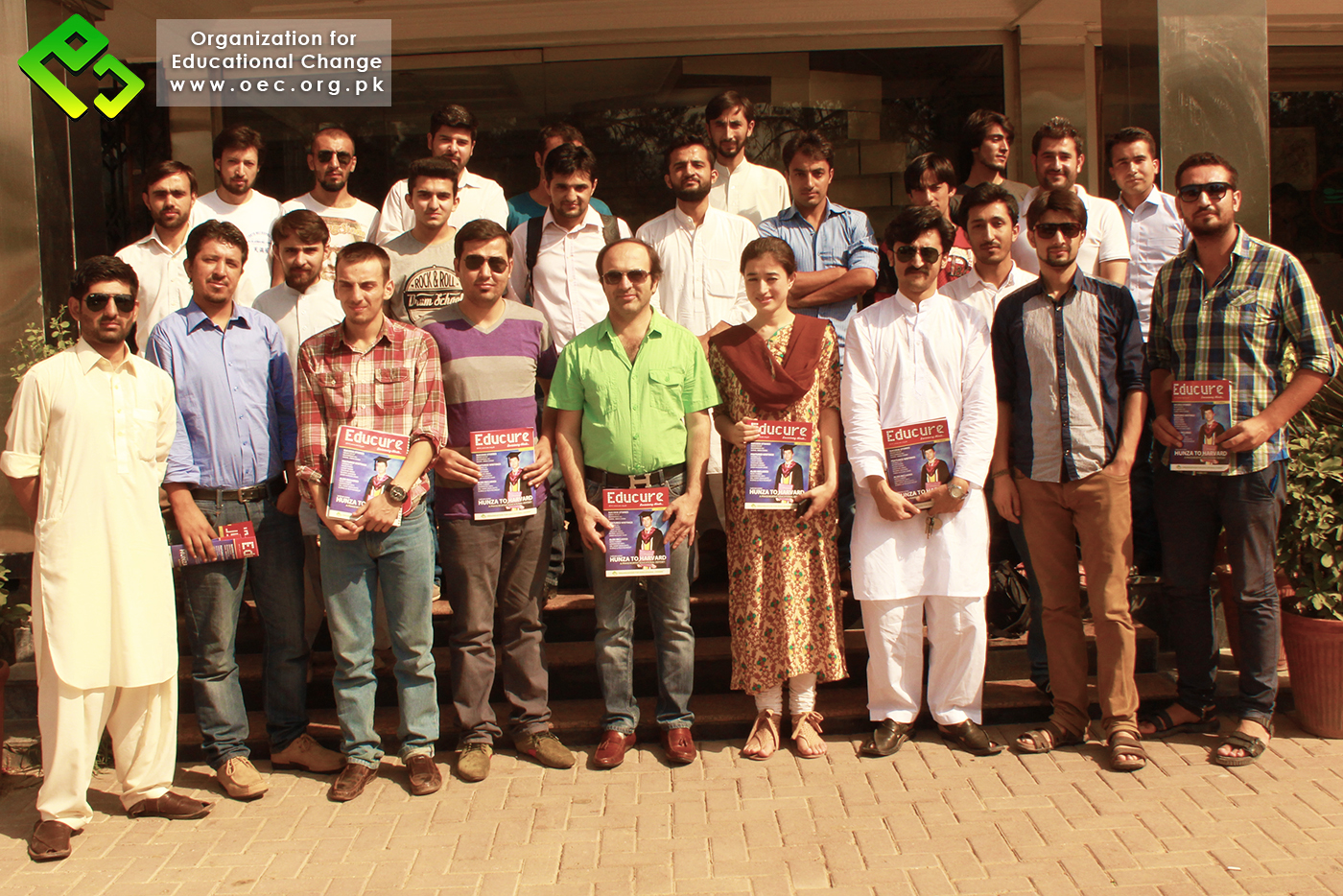 Group photo after the 4ht OEC Oath Taking Ceremony