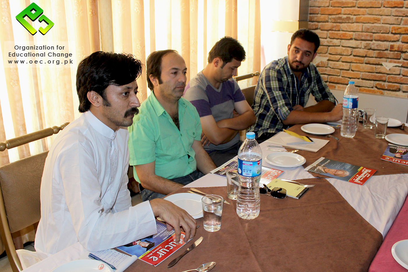 Kamil Jan Baigal, the founder of GBVM, expressing his views