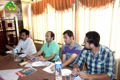 OEC Goodwill partner Raja Nazeem ul Amin sharing his ideas about OEC's latest projects