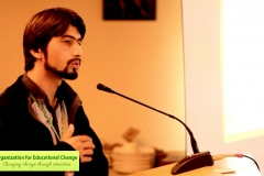 Imran Hunzai, OEC's Co-founder and former Vice President speaking to the audience at EELY Forum 2014