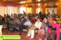The audience included people from different projects of AKRSP - EELY program, various LSOs from across Gilgit-Baltistan & Chitral and many others who have benefited from the EELY project.