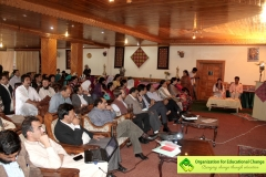 The audience included people from different projects of AKRSP - EELY program, various LSOs from across Gilgit-Baltistan and Chitral.