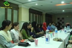 OEC Orientation for new team held in Rawalpindi