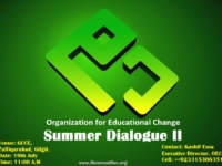 All Set to Kick off with OEC Summer Dialogue II at GCCE, Zulfiqarabad, Gilgit