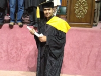 Another GBian graduated from UET Taxila