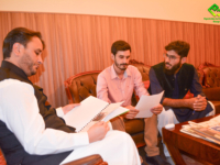 OEC meeting with CM and Deputy Speaker of Gilgit Baltistan