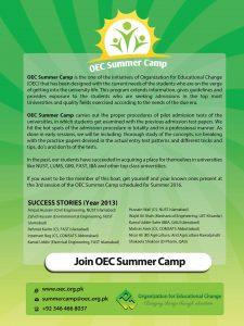 Oec Summer Camp