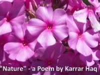 """Nature"" Poem by Karrar Haq"