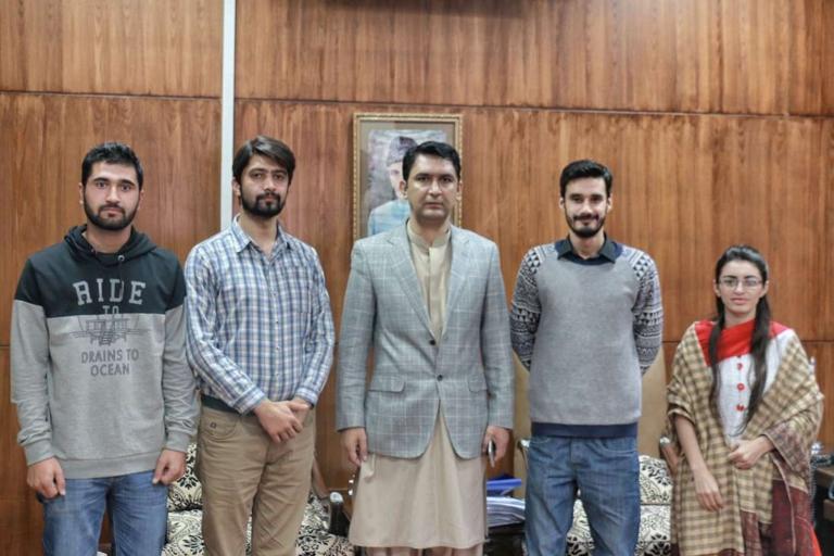 Team OEC Meets Deputy Commissioner Islamabad at his office