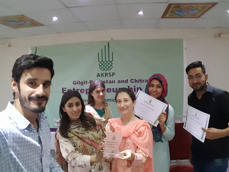 OEC Participates at GBC Women Entrepreneurship Day Held by AKRSP at Lok Virsa
