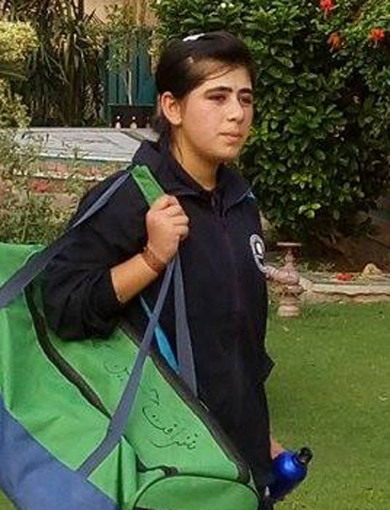 Lubna Behram, another daughter of Gilgit-Baltistan, makes her way into national cricketing world.