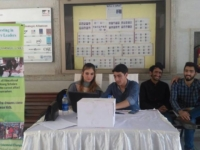 The OEC Invest in Future Leaders(IFL) team started off its #IFLCampusDrive at IBA, Karachi